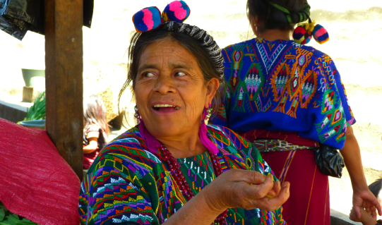 Woman at the Market of Chajul
