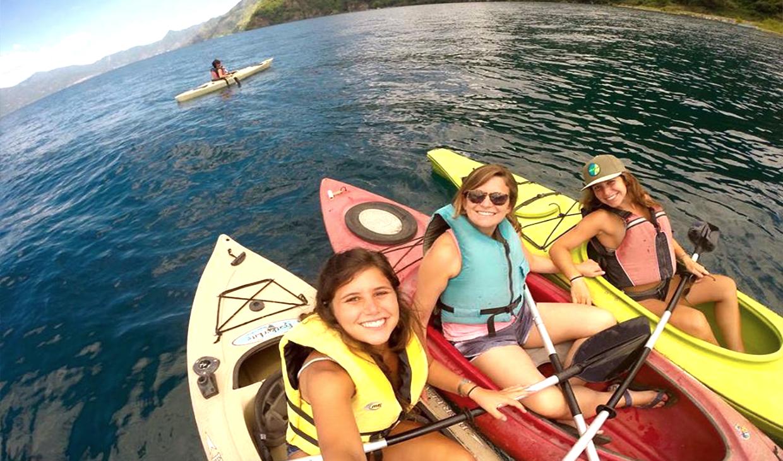 Family Kayaking Experience in Lake Atitlan